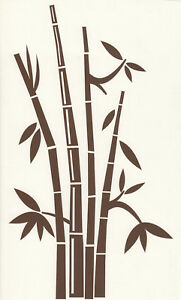 Wandtattoo Wandaufkleber Bambus Wohnzimmer Garten Flur
