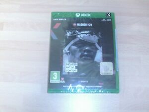 Madden 21 EA Sports NXT LVL Edition - XBOX Series X Game - NEW&SEALED