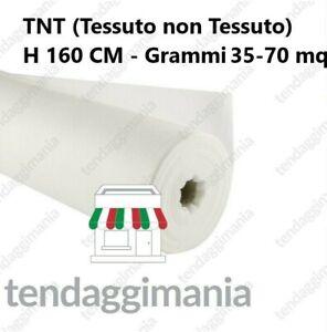 TELO TNT TESSUTO NON TESSUTO BIANCO VENDITA AL METRO GRAMMI 70 e 35 - H 160 CM