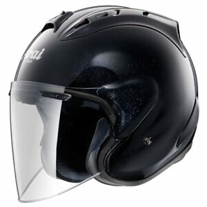 Arai SZ RAM-X Gloss Black Size XL Open Face Motorcycle ASF Riding Safety Helmet