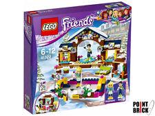 LEGO 41322 FRIENDS La pista di pattinaggio del villaggio invernale