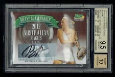 Victoria Azarenka signed autograph 2013 Ace Authentic Grad Slam 1/15 BAS 9.5