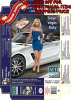 Vegas Baby MAS24020 Masterbox 1:24 Scale Figure Model Kit Sloan