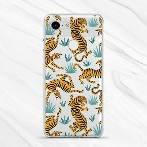 Wild Tiger Animal Nature Exotic Art Cover Case For Google Pixel 4 3A 3 2 1 XL