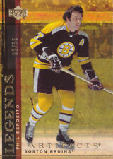 07-08 Artifacts Phil Esposito /50 GOLD LEGENDS Bruins 2007
