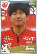 117 CHANG-HOON KWON SOUTH KOREA DIJON FCO  STICKER PANINI FOOT 2018
