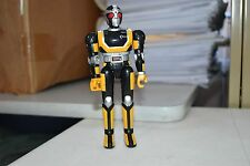 "1995 Bandai Beetleborgs Masked Rider Super Gold & Black 5"" Vintage Action Figure"