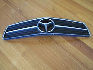 MERCEDES BENZ CAR GRILLE w BADGE FRONT RADIATOR GRILL DISPLAY