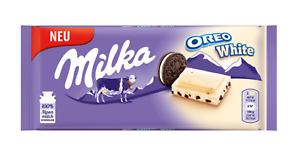 Milka Oreo White -  Schokolade 100g Blitz Versand wow white Milk Oreo