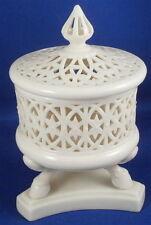 Nice Worcester Grainger Porcelain Reticulated Potpourri Dish Vase Porzellan Owen