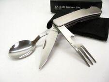 KA1300 Set Ka-bar Hobo Couteau De Camp Fork Spoon Utensil Tool Etui Nylon