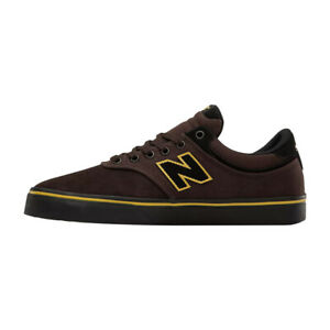 """New Balance # Numeric """"255"""" Sneakers (Brown/Black) Men's Skating Shoes"""