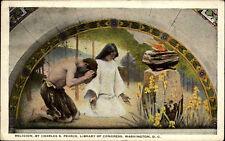 1936 Dt. Schiffspost Stempel H.A.L. New York Seepost Hamburg New York Postkarte