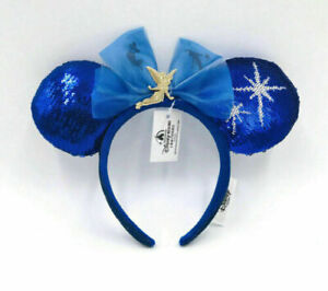 Disney Minnie Mouse The Main Attraction Peter Pan's Flight June Ears NEW