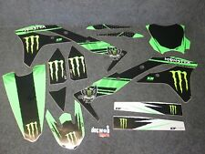 Kawasaki KXF250 2017-2018 Monster Energy Grafici Team + Kit Plastiche GR037