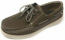 Margaritaville Mens Lightweight Comfort Lace-Up Boat Shoes in Palm - Choose Size