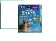 Sergeant's Silver Squeeze on for Cats and Kittens 5 lbs & over 12 Weeks 3 Month