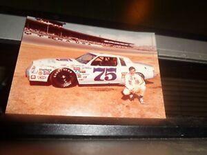 1981 Joe Millikan No. 75 RahMoc Buick 4x5 NASCAR Postcard Handout Photo