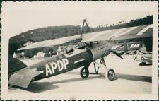 Avion Type F-APDP  Vintage silver print.  Tirage citrate  7x11  Circa 1935