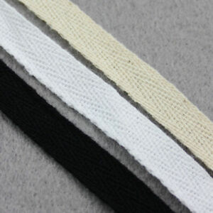 50 YARDs FULL ROLL BINDING TWILL TAPE  WEBBING  COTTON  SCRUBS APRONS GOWNS UK
