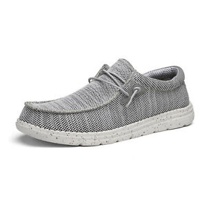 Men's Wally Lightweight Stretch Loafers Breathable Casual Slip-on Sneakers Shoes