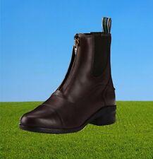 Ariat Heritage IV Zip Paddock, Ariat Leder Stiefelette, brown und schwarz