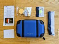 ANA(All Nippon Airways) Globe-trotter AMENITY KIT BLUE Sekkisei Myv