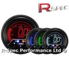 ProSport 60mm Premium Evo Pico/adustable advertencia LCD Turbo Boost Gauge-Bar