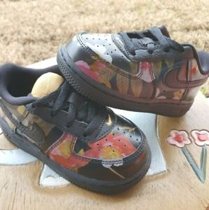 Nike Air Force 1 FLORAL Girls'  BRAND NEW Toddler 7C