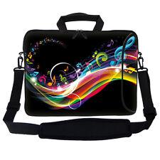 """15.6"""" Laptop Computer Bag Case w Pocket & Handle Shoulder Strap 2704"""
