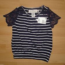 Gestreifte H&M Kurzarm Mädchen-T-Shirts & -Tops