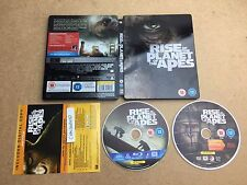 Rise Of The Planet Of The Apes Blu Ray Steelbook (Rare & OOP)