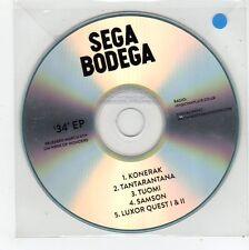 (FE997) Sega Bodega, 34 EP - 2013 DJ CD