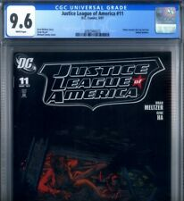 PRIMO:  JUSTICE LEAGUE of AMERICA #11 NM+ 9.6 CGC TURNER variant JLA DC comics