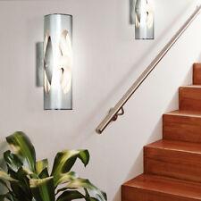 2 x applique LED luminaire mural 1,9W design aluminium verre éclairage moderne