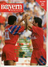 BL 91/92 FC Bayern München - SV Werder Bremen