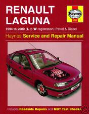 Haynes Manual Renault Laguna Petrol Diesel 1994-2000 3252 NEW