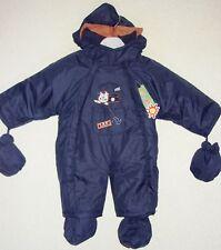 Kinder / Baby Schneeanzug Overall Gr. 62 , blau / neu / SO / 27