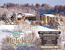 West Virginia - Wheeling - OGLEBAY RESORT Wilson Lodege - Flexible Fridge MAGNET