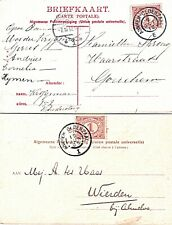 2x Grootrond Trein Arnhem-Oldenzaal I 1905 en E 1912 oop fantasie