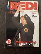 1996 Middlesbrough V Manchester United Football Programme