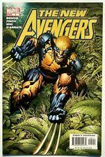 New Avengers #5 (May 05') Nm (9.4) vs Karl Lykos/ Wolverine Joins/ Finch Art