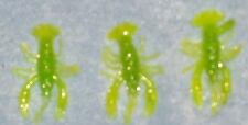 4x Gummikrebs,4cm,farbe grün,Krebs,Dropshotkoeder,Dropshot.