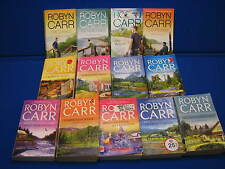 Robyn Carr 13 Book lot Virgin River Novel Thunder Point Romance Paperback