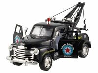 New Kinsmart 1953 Chevrolet 3100 Wrecker 1:38 diecast model toy tow chevy Black