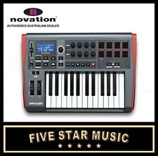 NOVATION IMPULSE 25 NOTE USB MIDI MASTER CONTROLLER KEYBOARD IMPULSE25 NEW