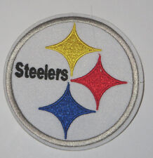 """Pittsburgh Steelers 3 1/4"""" Embroidered Sewn/Iron On Patch"""