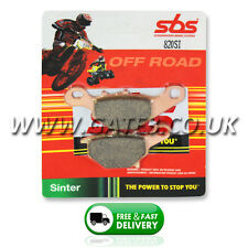 Suzuki RM85 RM 85 2005-2016 SBS 820SI Sintered Competition Rear Brake Pads