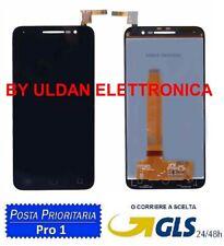DISPLAY LCD ALCATEL VODAFONE SMART PRIME 6 VF-895N PER TOUCH SCREEN VETRO NERO