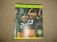 Green Bay Packers 1973 Yearbook - Chester Marcol Cover YEAR BOOK